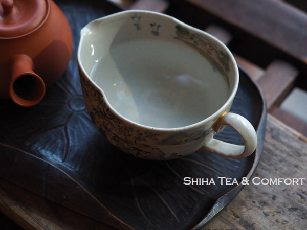Yuzamashi (hot water cooler), Gong Dao Bei (pitcher) from Kyoto 湯冷 公道杯