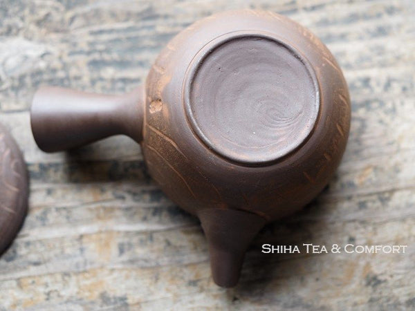 TOJU Wood-like Small Ceramic Teapot [T02] 陶寿仿木