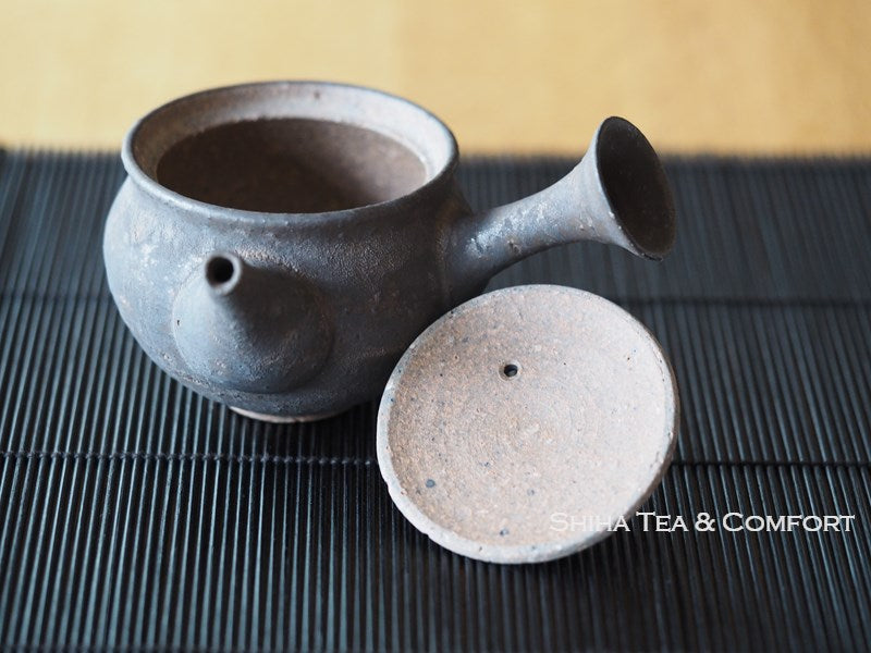 Junzo Black-Gold Small Teapot 常滑淳蔵