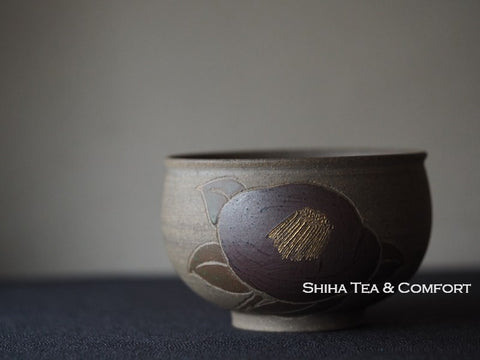 SEIHO Small Matcha Camellia Tea Bowl 青峰抹茶碗小号