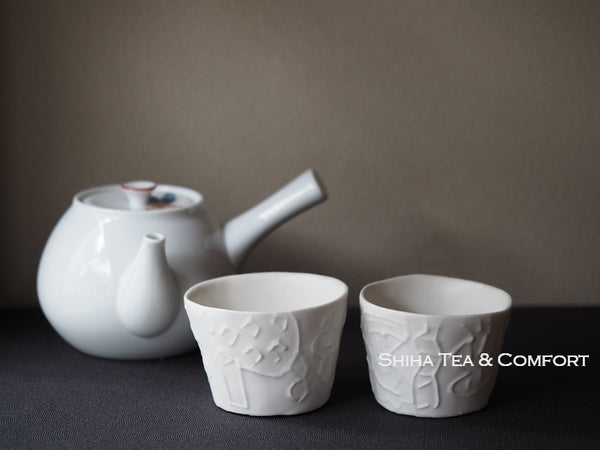 Japanese Dremy White Pair Cups
