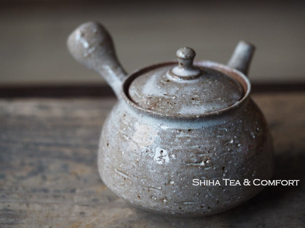 JUNZO Rough Clay Glazed Teapot 淳蔵粗陶