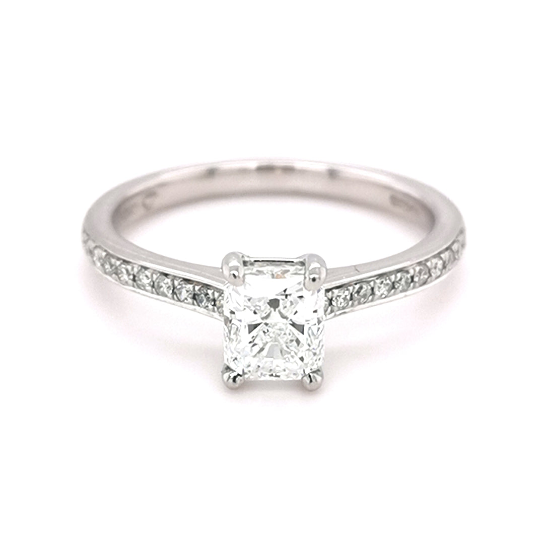 Platinum 1.04ct Diamond Solitaire Ring - Sonny's