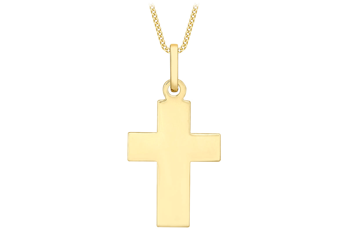 9ct Yelllow Gold Cross