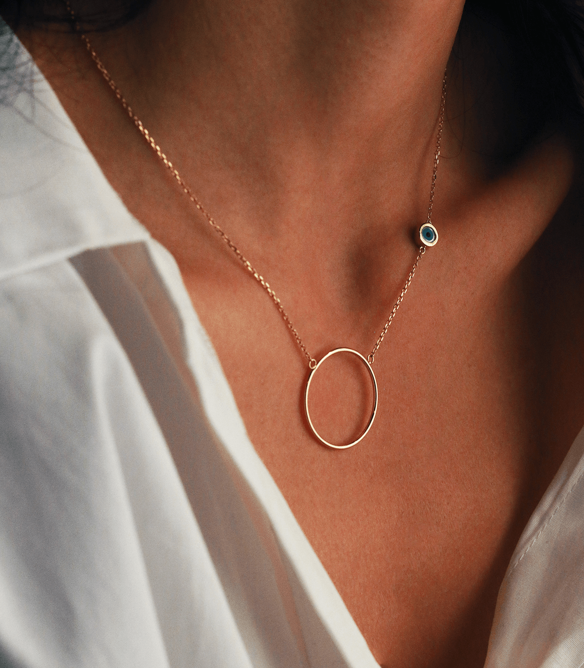 The Eye Ring Necklace