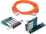 Adnaco-S5: 20 Gb/s PCIe Gen 2 Over Fiber Optic Expansion System