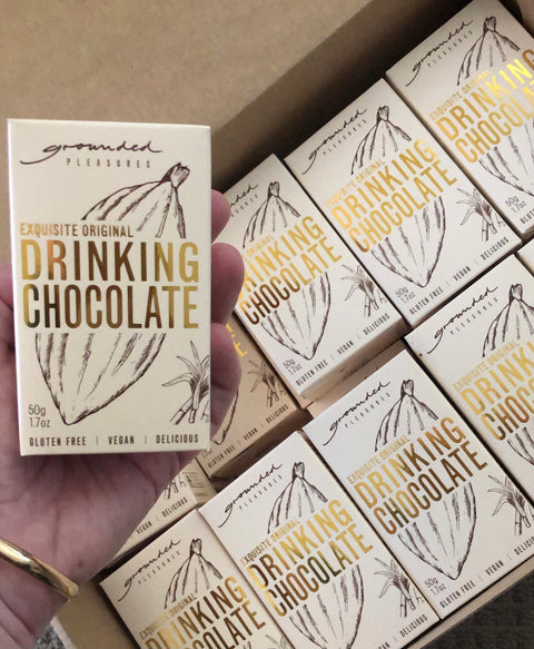 Grounded Pleasures Exquisite Original Drinking Chocolate Mini 50g