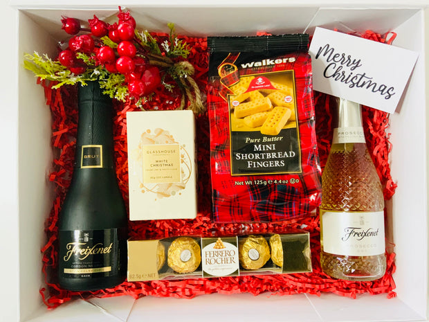 Prosecco and Nibbles Christmas Bundle