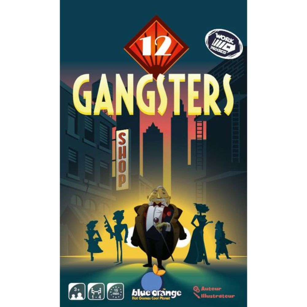 12 Gangsters | D20 Battleground