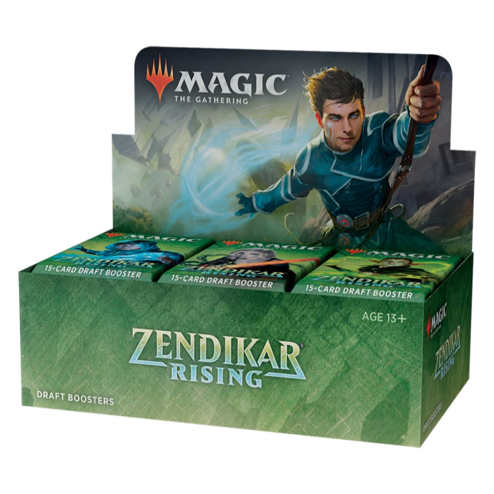 Zendikar Rising Draft Booster Box | D20 Battleground