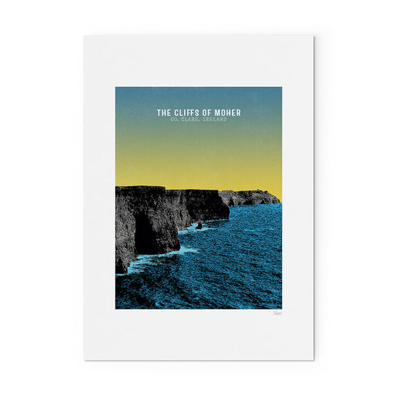 Cliffs of Moher A4 Print