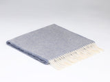 Smoke Blue Grey McNutt Wool Scarf