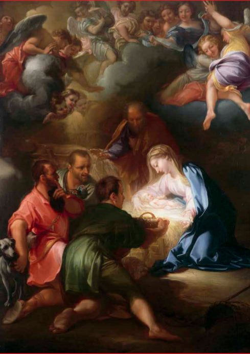 Adoration of the Shepherds Christmas Card Pack