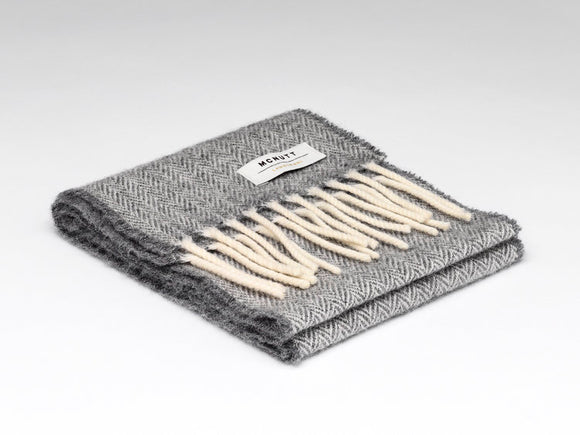 Uniform Grey Child's Scarf