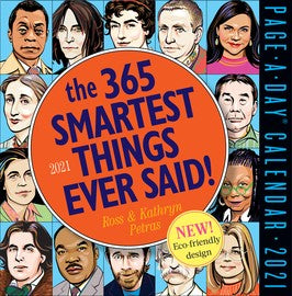 365 Smartest Things Ever Said Calendar 2021