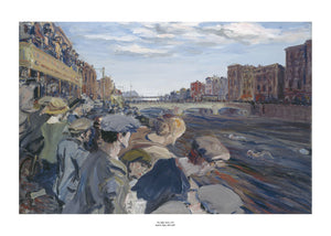 The Liffey Swim Art Print