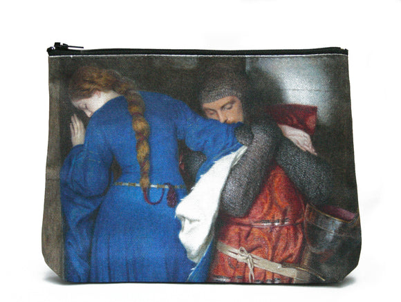 The Meeting on the Turret Stairs Cosmetic Bag