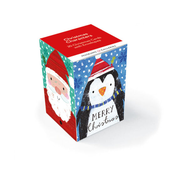 Christmas Characters Christmas Card Box