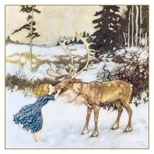 Gerda and the Reindeer Christmas Cards