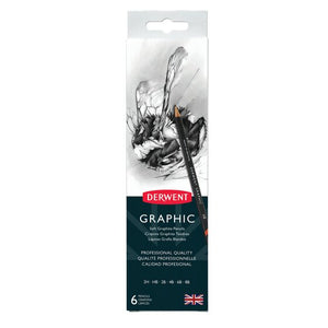 Graphic Pencils - Tin of 6