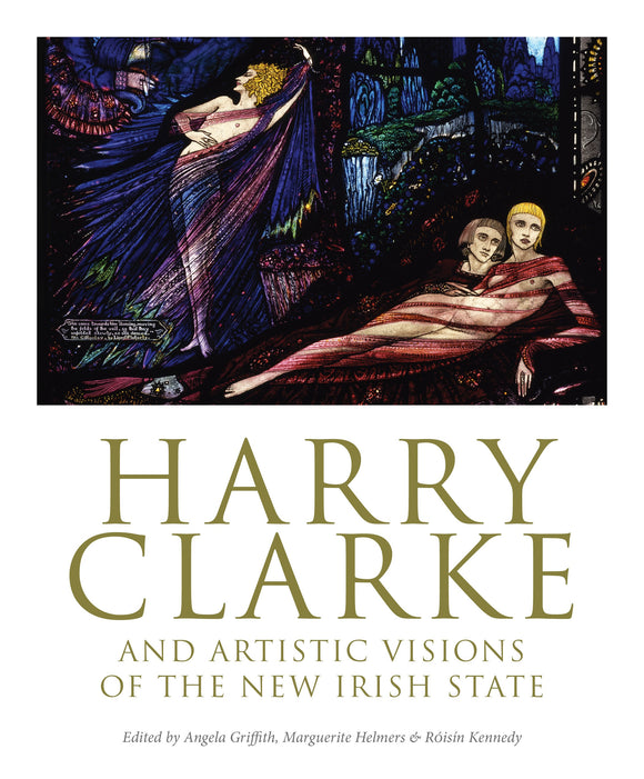 The white cover is split in two. In the top half is an intricately detailed illustration in jewel tones of people draped in sheer, flowing cloth. In the bottom half is the title in gold capital letters.