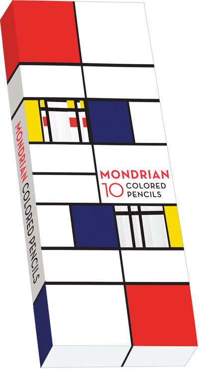 Mondrian Coloured Pencils