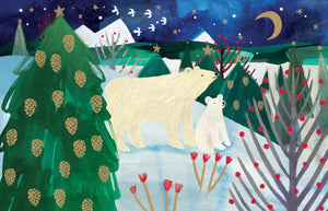 Polar Bear Christmas Notecard Pack
