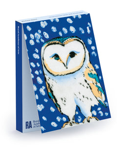 Richard Spare Snowy Owl Christmas Card Pack