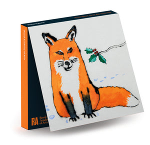 Richard Spare Winter Fox Christmas Card Pack