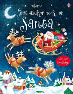 Santa First Sticker Book