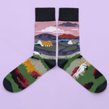 Thatched Cottage Socks