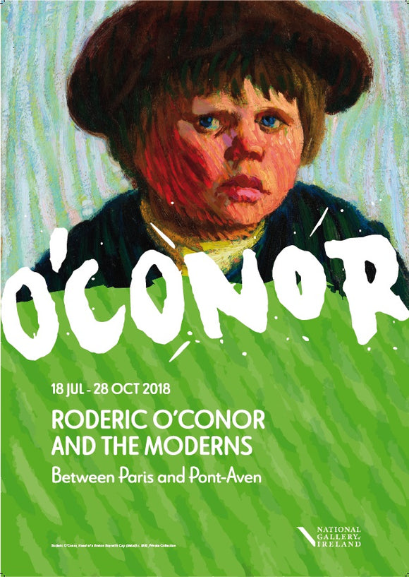A1 Roderic O'Conor Exhibition Poster