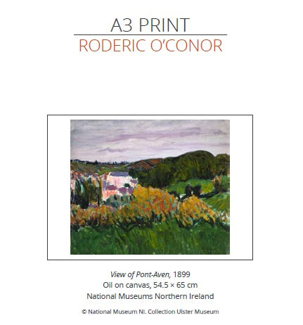 View of Pont-Aven - A3 Print