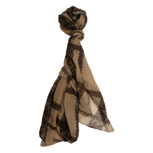 Lace Chequer Scarf