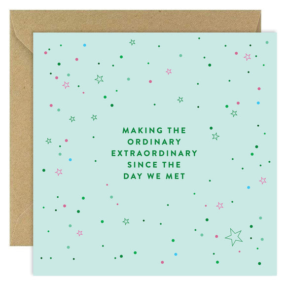 Making the Ordinary Extraordinary Card