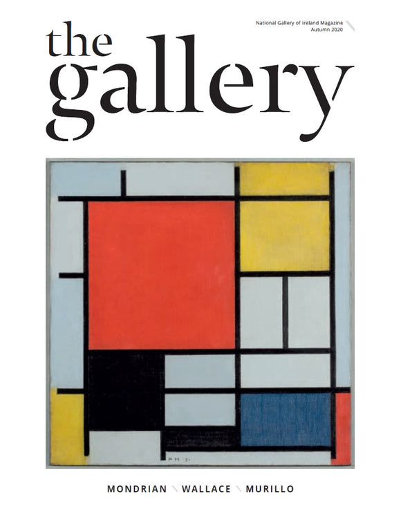 A white cover with an image in the centre. The image is a painting of white, red, yellow, blue and black squares and rectangles separated by black lines. The title is across the top in black.
