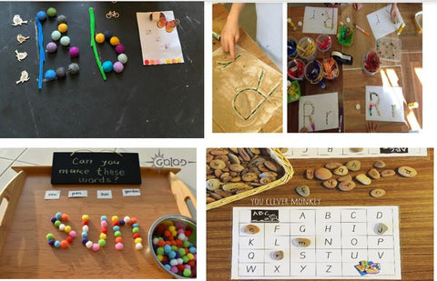 Collection of images for NEwsletter Literacy
