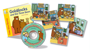 Goldilocks and the Three Bears Sing and Play Book Pack