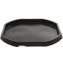 Load image into Gallery viewer, Black octagonal plastic active world discovery tray.