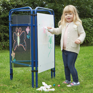 Fold Away Toddler Easel Assorted Drawing Surfaces