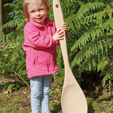 Load image into Gallery viewer, Giant Wooden Spoon