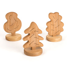 Load image into Gallery viewer, Small World Wooden Trees
