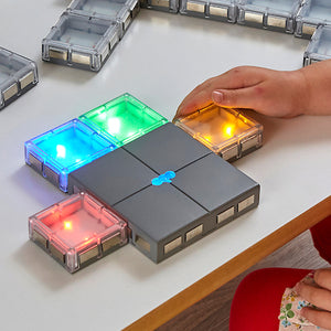 Connecting Glow Tiles