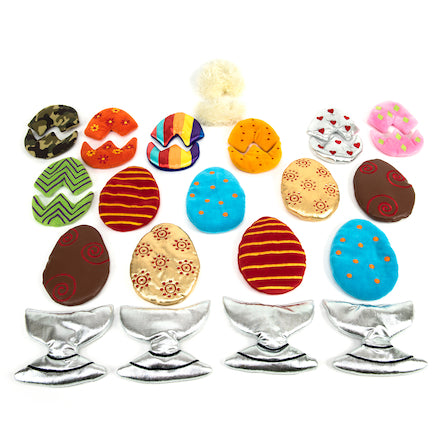 Sort and Match Fabric Egg