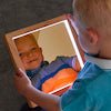 Load image into Gallery viewer, Light Up Square Hand Held Mirrors