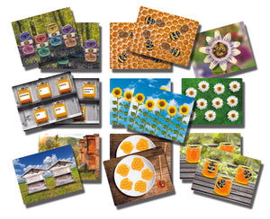 Honey Bee Early Number Cards (Set of 16)