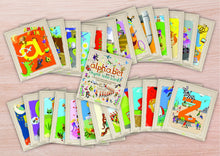 Load image into Gallery viewer, The alphabet rhyme time cards by Michelle Larbey.
