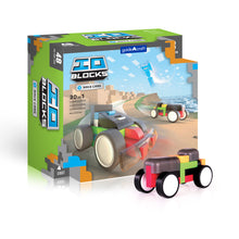 Load image into Gallery viewer, IO Blocks® Race Cars - 48 pc. set