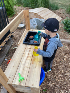 Toddler Mud Kitchen