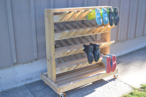Wellie Boot Rack